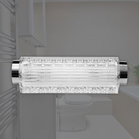 LED (크리스털) 욕실1등 원형 터널등 15W (국산/KC) (280*83*70) 6500K