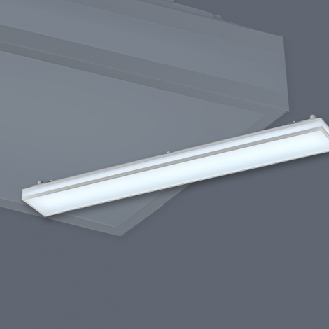 LED 주방 2등 50W (심플라인 시리즈) KC