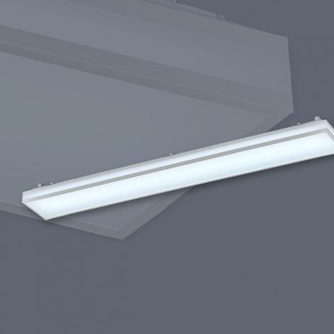 LED 심플라인 주방2등 50W (국산/KC) (1190*160*85) 6500K
