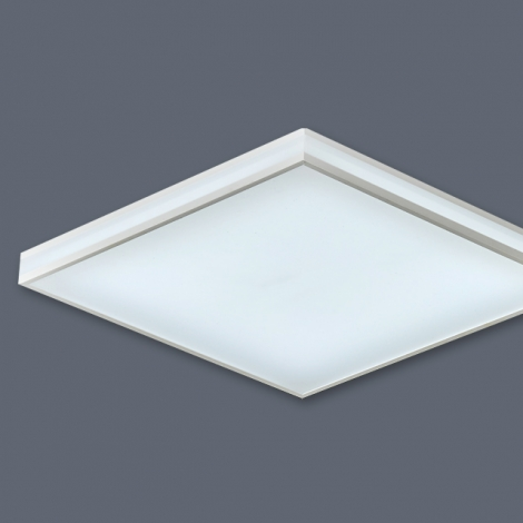 LED 심플라인 방등 50W (국산/KC) (500*500*85) 6500K