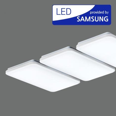 LED 뉴 엠보 거실6등 150W (국산/KC) (1120*655*70) 6500K