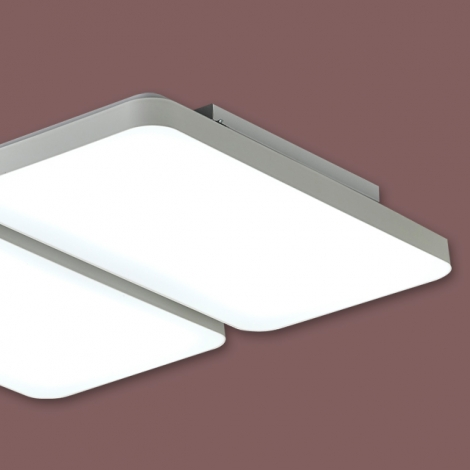 LED 거실 4등 100W (사출시스템 시리즈) KC