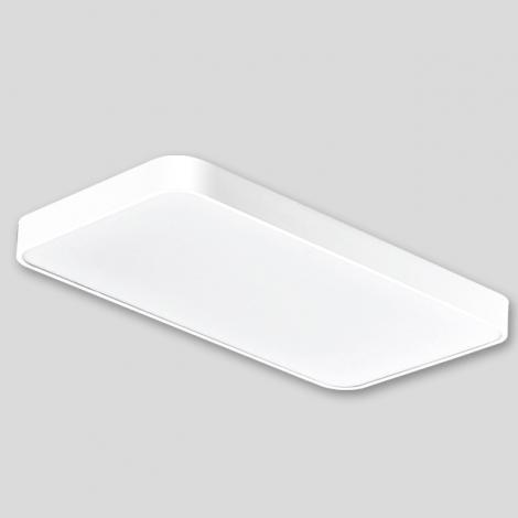 LED 시스템 거실4등 100W (알루미늄) (국산/KS) (735*698*85) 6500K