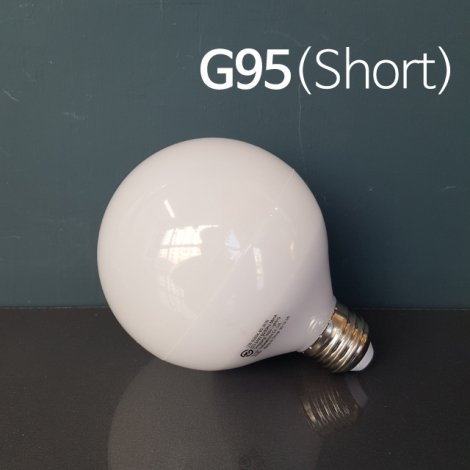 LED 볼구 G95 12W (Short Type) E26