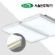 LED 프리미엄 거실4등 100W (국산/KC인증) (735*700*90) 화이트/옐로우 6500K